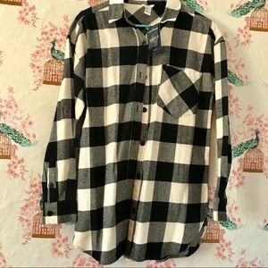 Forever 21: Flannel/ Plaid Shirt NWT
